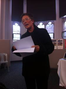 Melissa Boyde launching art of the animal