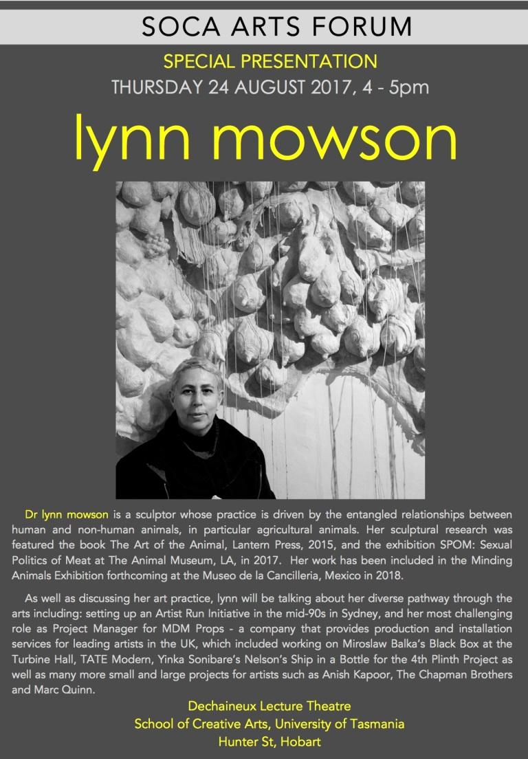 TCotA Art Forum - lynn mowson Poster copy 2