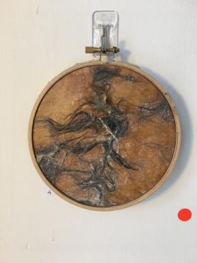 'hairy hoop' The Vulva Project 2018
